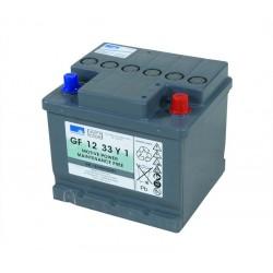 Batteri 12V 33Ah Gelat 43010
