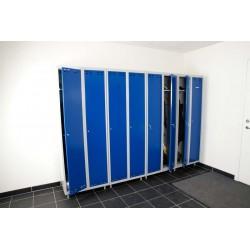 SWED 2 Blue/Grey, locker 2door