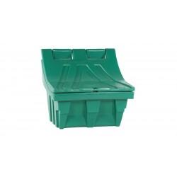 Salt och Sandbehållare, plast 50kg Grön