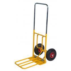 Magasinkärra 800x430x1150 lufthjul 150 kg