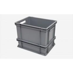 Plastlåda Tät med handtag 400x300x320 mm 30 L