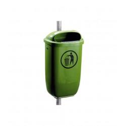 Papperskorg 50 L Grön Classic