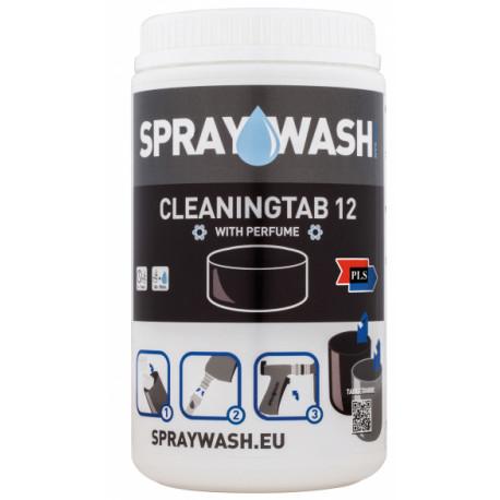 Rengöringstabletter Spraywash 12